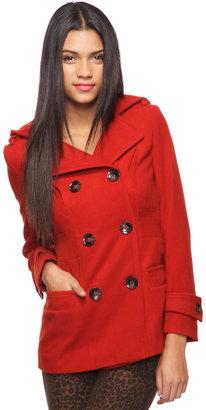 Forever 21 Hooded Winter Coat