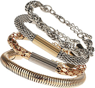 Topshop Mixed Chain Bracelet Pack