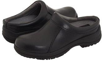 Dansko Wil (Black Smooth Leather) Men's Clog Shoes
