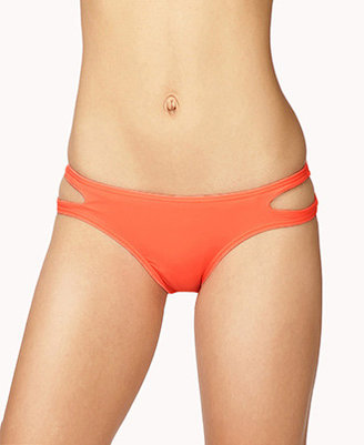 Forever 21 Low-Rise Cutout Bikini Bottoms