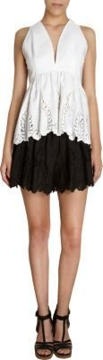 Thakoon Floral Embroidered Shorts