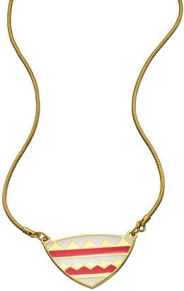 Foxy Originals Enamel Samba Pink Pendant Necklace