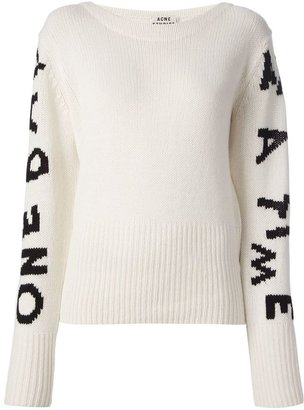 Acne Studios wool 'Lupine Sleeves' sweater