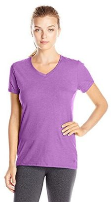 Champion Women's Jersey V-neck Tee $15 thestylecure.com