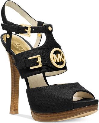 MICHAEL Michael Kors Mackenzie Platform Sandals