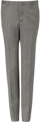 Jil Sander Grey Slim Fit Wool Pants