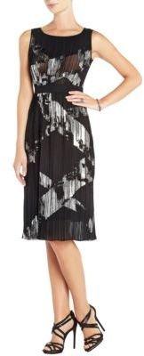 BCBGMAXAZRIA Zariah Pleated Cocktail Dress