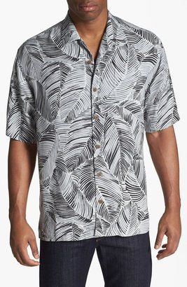 Tommy Bahama 'Put a Frond on It' Silk Campshirt