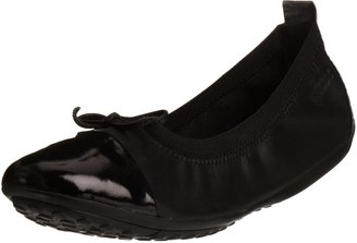 Geox J Piuma Bal.f Black School Shoe J11b0f4302c9999 7 UK Youth 41 EU