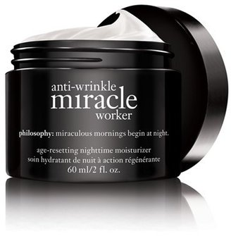 Philosophy 'Anti-Wrinkle Miracle Worker' Age-Resetting Nighttime Moisturizer $68 thestylecure.com