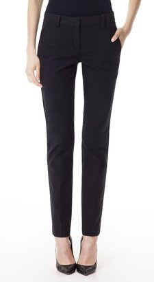 Theory Louise Pant in Scroll Cotton Twill
