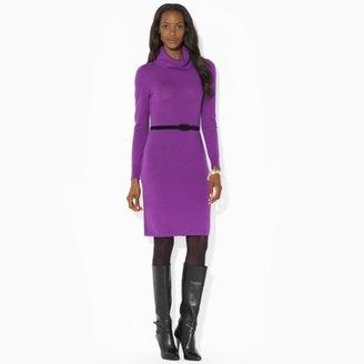 Ralph Lauren Cowlneck Wool Dress