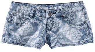 Mossimo Juniors Denim Shorts - Jacquard