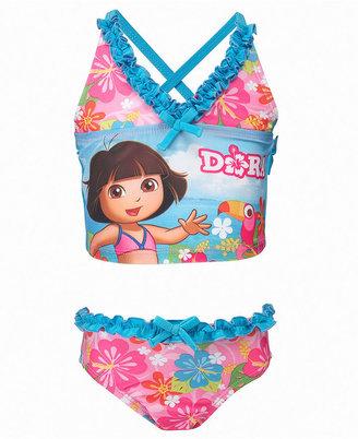 Dream Wave Kids Swimwear, Toddler Girls Dora Tankini Swimsuit