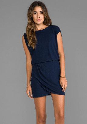 Heather Wrap Mini Dress