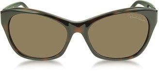 Roberto Cavalli Asdu 730S 52F Havana Leopard Brown Sunglasses