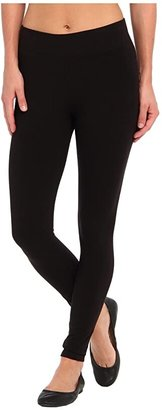 Hue Ultra Leggings w/ Wide Waistband (Black) Women's Clothing