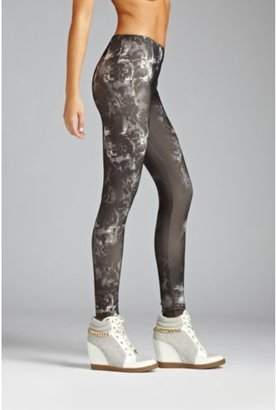GUESS Sublimated Floral-Print Leggings