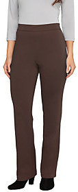 Liz Claiborne New York Regular Ponte Knit Boot Cut Pants $12.63 thestylecure.com