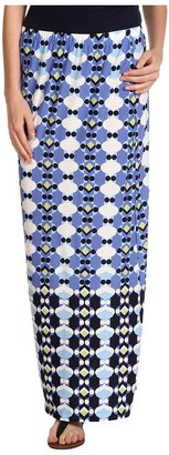 Christin Michaels Noele Maxi Skirt (Blubell Multi) - Apparel