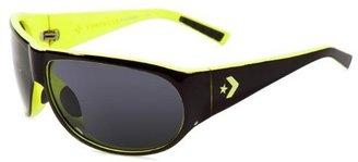 Converse Backstage Bounce Pass BOUNBLA67 Aviator Sunglasses,Black,67 mm