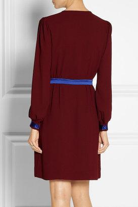 Diane von Furstenberg Murphy cutout crepe dress