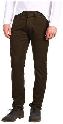 Lacoste Fine Wale Washed Corduroy 5-Pocket Pant (Bear) - Apparel