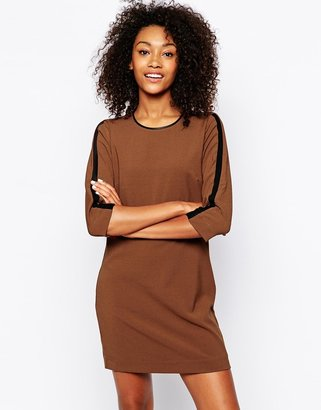 Vero Moda Contrast Trim Shift Dress