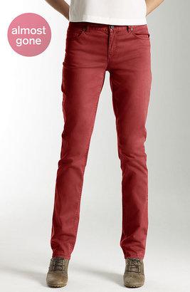 J. Jill Color-washed slim-leg jeans