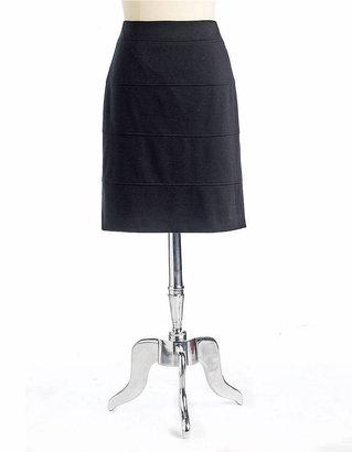 Kay Unger Ponte Pencil Skirt