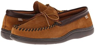 L.B. Evans Atlin (Saddle Suede W/Terry Lining) Men's Slippers