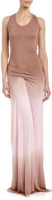 Young Fabulous & Broke Young Fabulous and Broke Hamptons Ombre Maxi Dress, Coffee/Blush