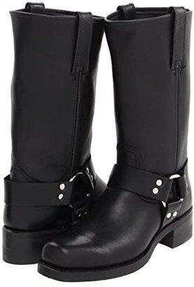 Frye Harness 12R (Black) Cowboy Boots
