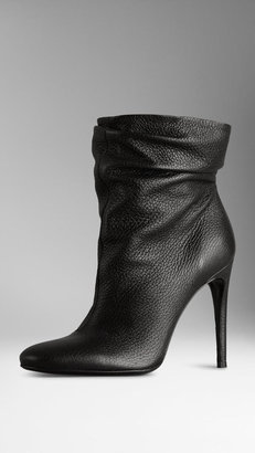 Burberry Deerskin Ankle Boots