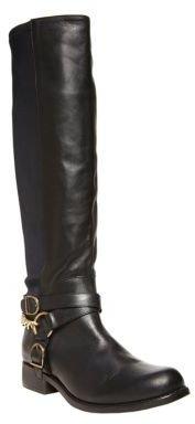 Betsey Johnson Bikerr Leather Boots