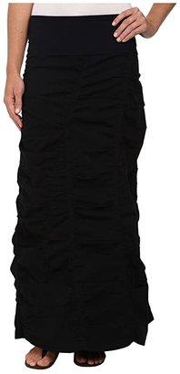 XCVI Peasant Skirt (Black) Women's Skirt