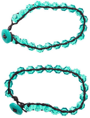 Gymboree Faceted Bead Bracelet Two-Pack