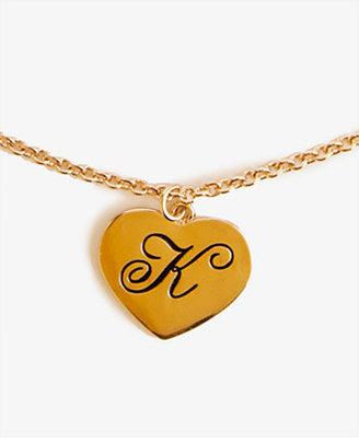 Forever 21 K Heart Charm
