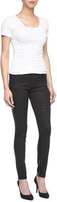 Blank Spray On Skinny Jeans, Black
