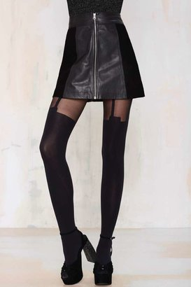 Factory House Of Holland Super Suspender Tights