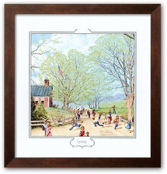 "Rockwell Art.com ""carefree days ahead"" framed art print by norman"