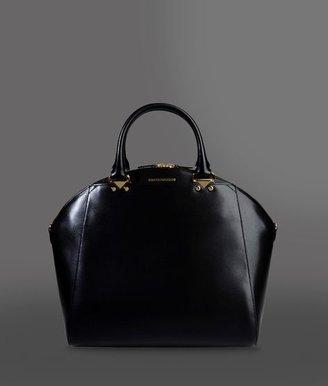 Emporio Armani Handbag In Boarded Leather