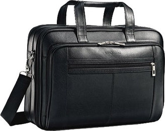 Samsonite Leather Checkpoint Friendly Brief $300 thestylecure.com