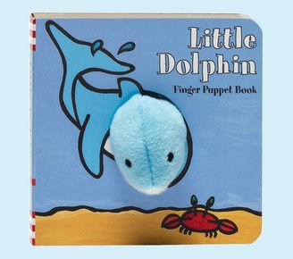 Pottery Barn Kids Little Dolphin Finger Puppet Book by Klaatje van der Put