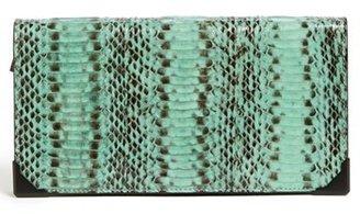 Alexander Wang 'Prisma - Long' Snakeskin Continental Wallet