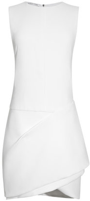Narciso Rodriguez White Crepe Sable Dress