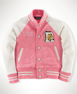 Ralph Lauren Jacket, Little Girls Varsity Jacket