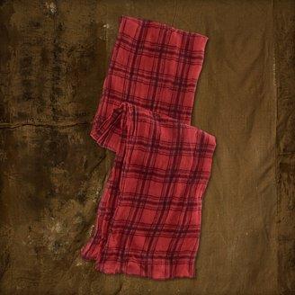 Denim & Supply Ralph Lauren Plaid Wool Scarf