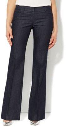 New York & Co. 7th Avenue Bootcut Pant - Hidden Blue