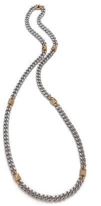 Fallon Jewelry Extra Long Pyramid Strand Necklace